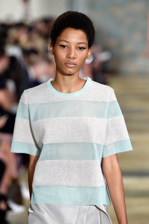Nyfw Ss16 Natural Hairstyles Hairstyles 2017 Hair Colors