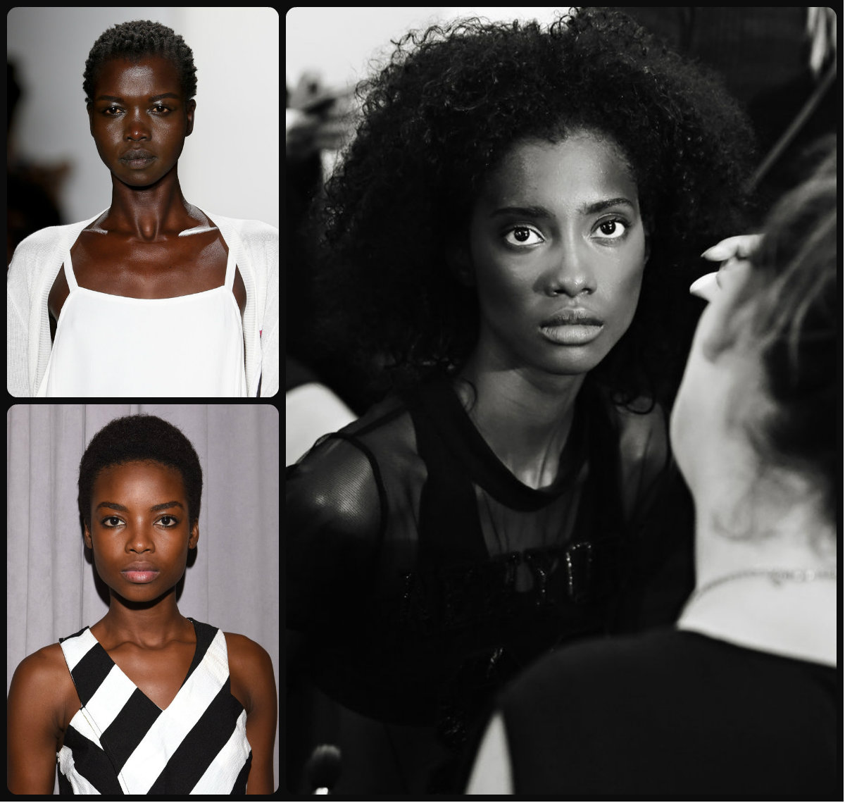 Afro hairstyles from NYFW SS16