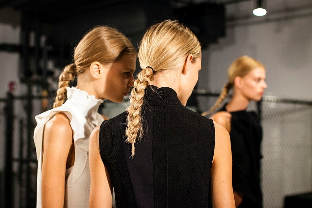 Proenza-Schouler Spring-Summer 2016 Hairstyles 1