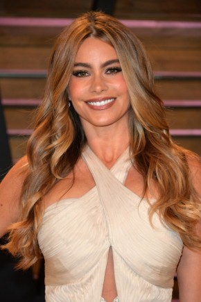 Sofia Vergara Long Hairstyles 2016