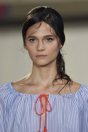Tory-Burch Spring-Summer 2016 Hairstyles