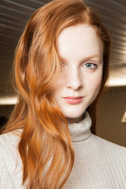 Copper Color Winter 2016 Hairstyles