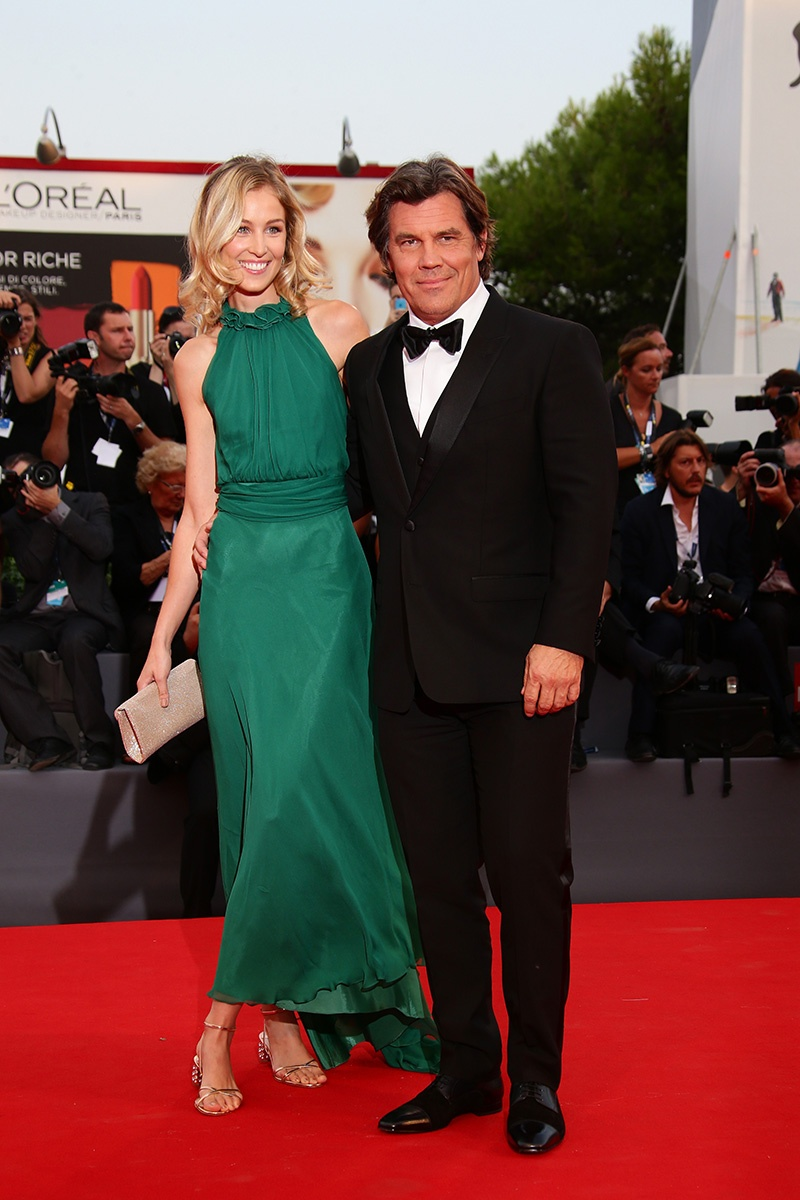 Kathryn Boyd and Josh Brolin Venice Film Festival 2015 Hairstyles