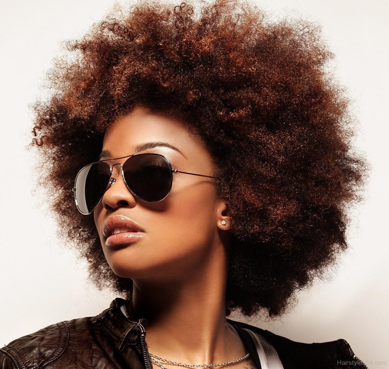 Voluminous Afro Hairstyles for Black Women