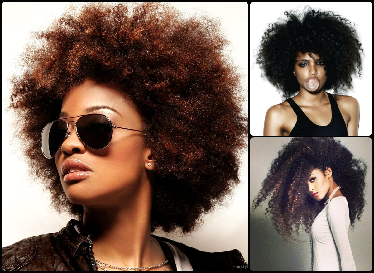 Hairstyles For Afros : Cutest afro hairstyles for black women