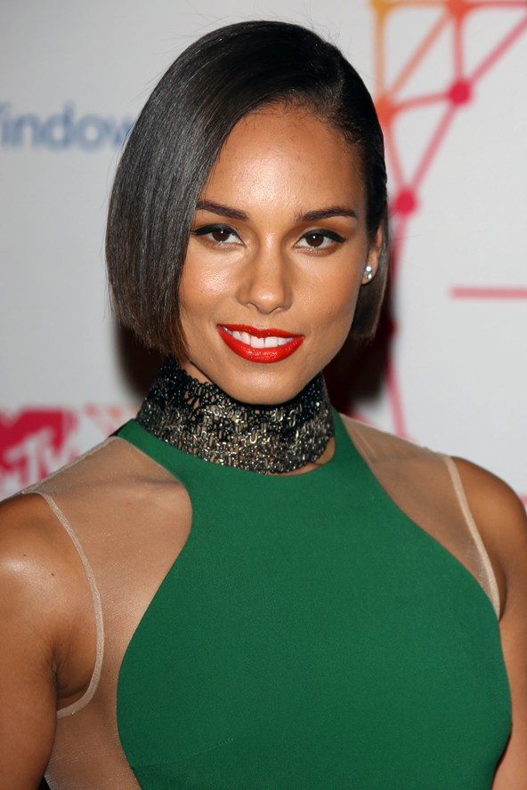Alicia Keys Hairstyles for black women