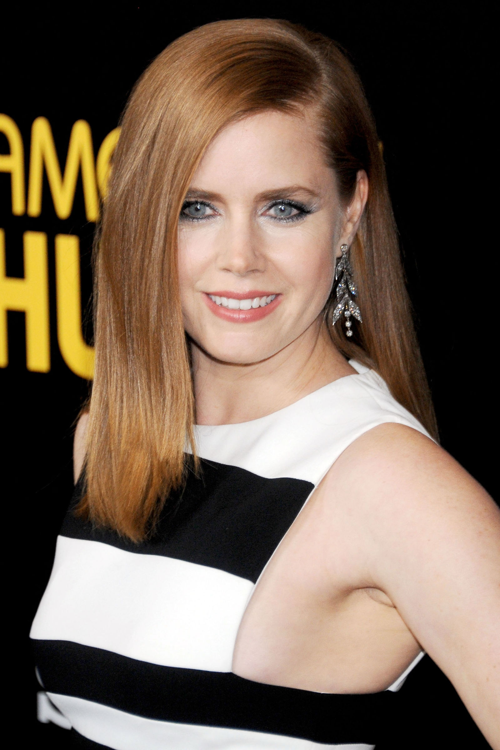 Amy Adams red hair colors 2016