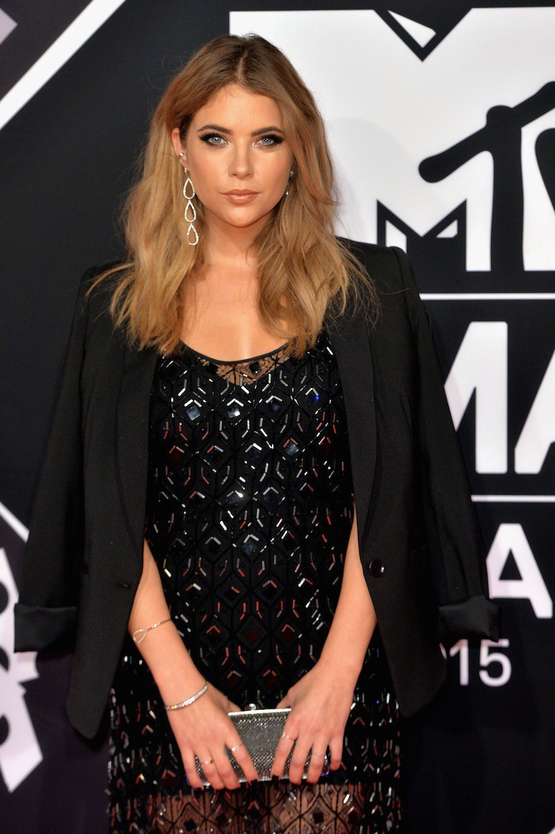 Ashley Benson celebrity hairstyles from EMAs 2015