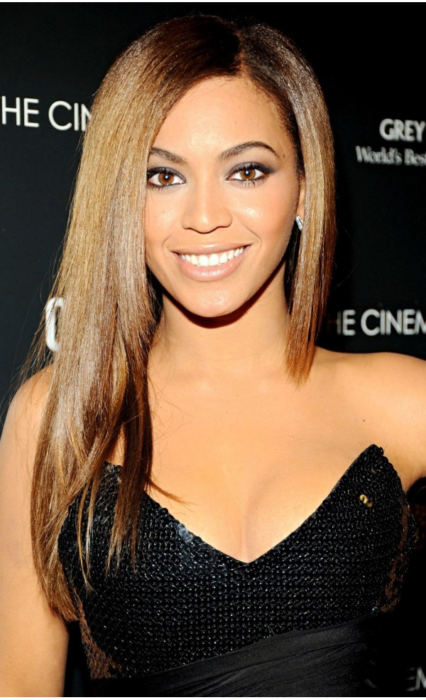 Beyonce Straight Hairstyles for black women