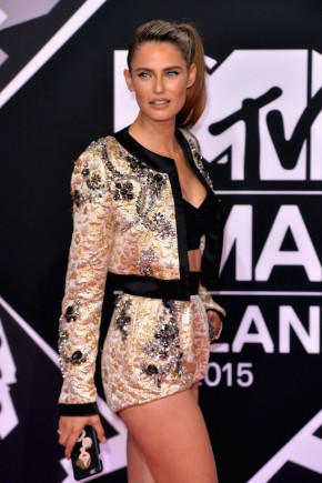 Bianca Balti celebrity hairstyles from EMAs 2015