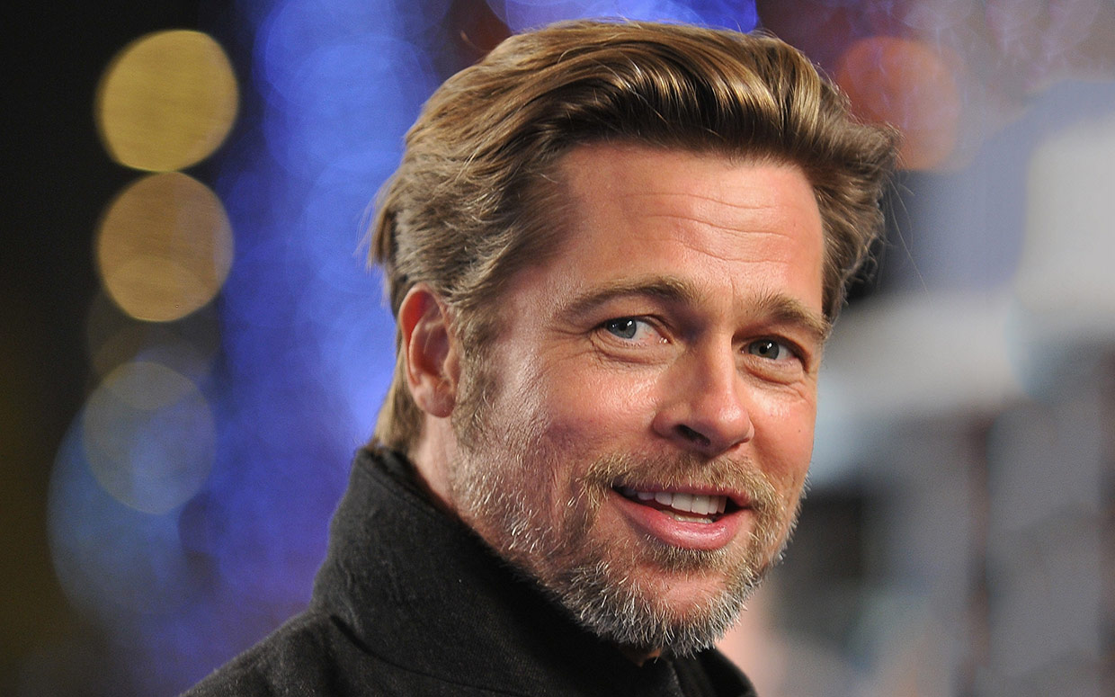 Brad Pitt Mens Hairstyles for 2016