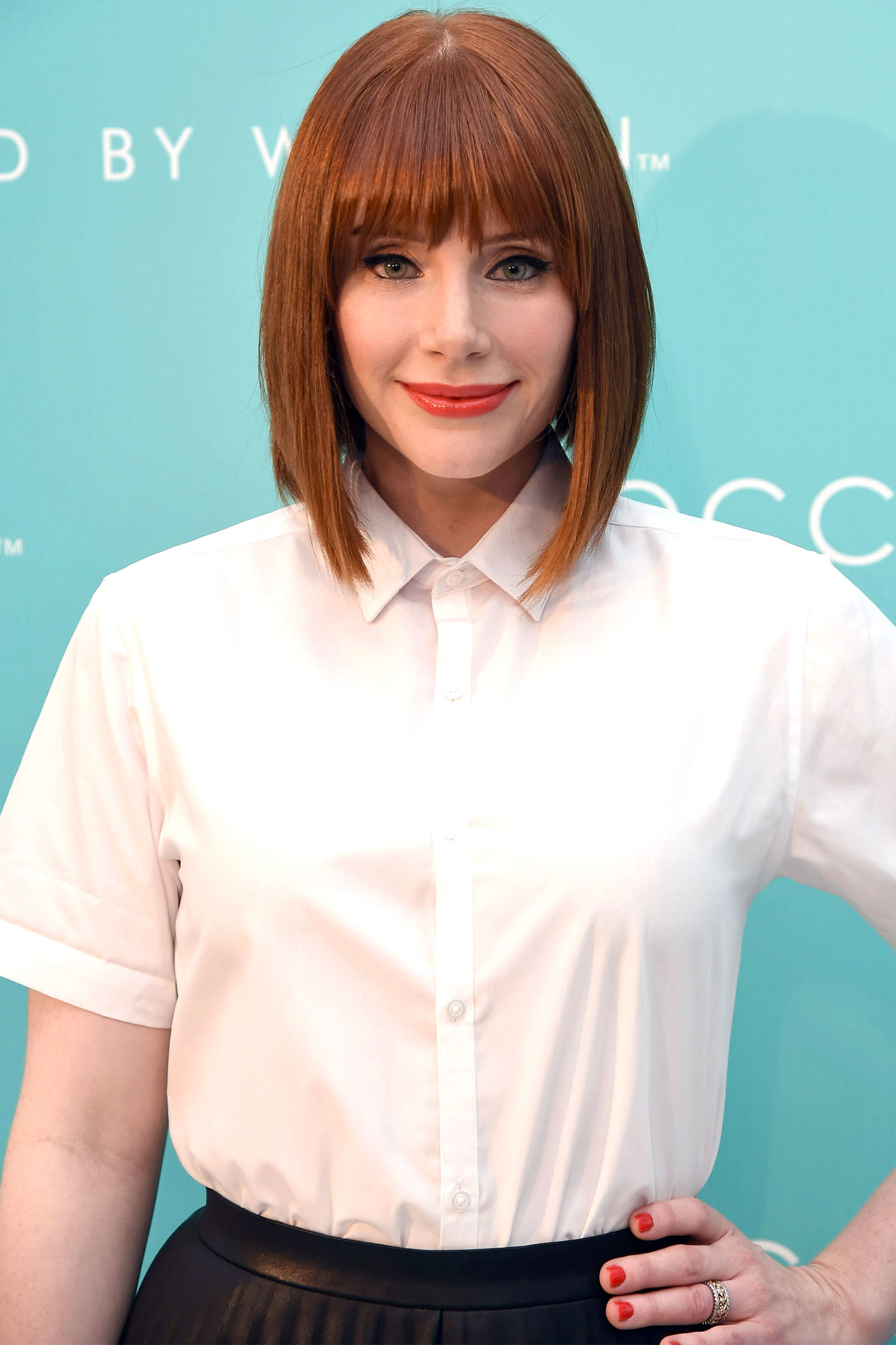 Bryce Dallas Howard red hair colors 2016