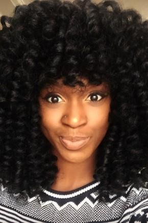voluminous crochet braids for black women