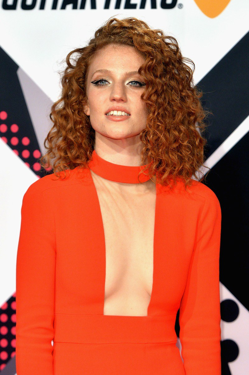 Jess Glynne celebrity hairstyles from EMAs 2015