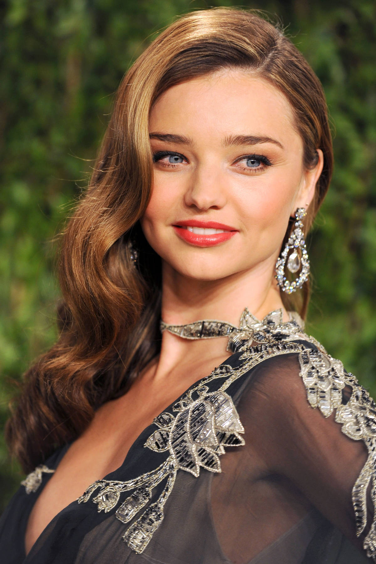 Miranda Kerr celebrity brown hair colors
