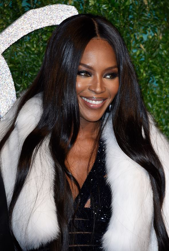 Naomi Campbell Straight Hairstyles for black women