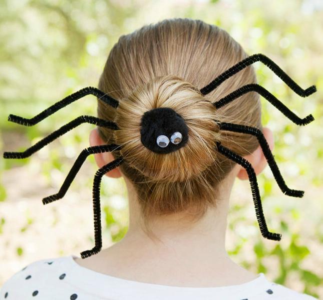 Spider Halloween Hairstyles