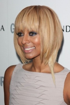 Straight blonde bob Hairstyles for black women