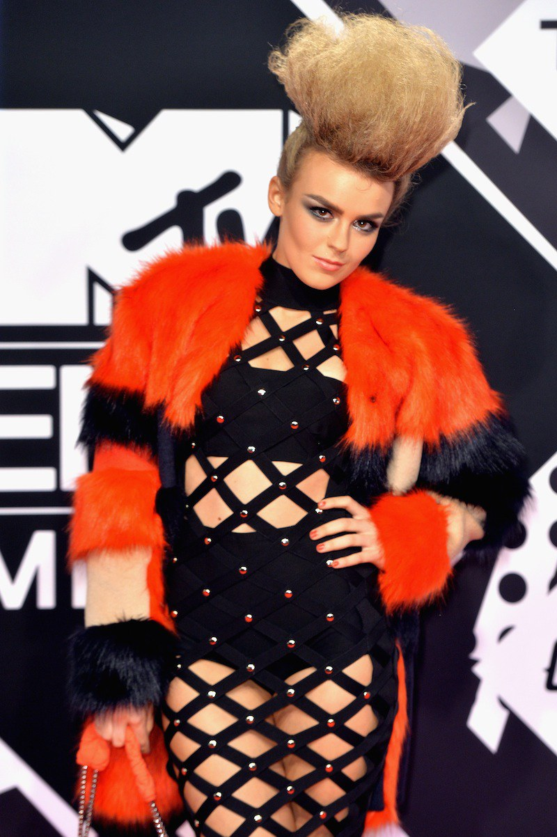 Tallia Storm celebrity hairstyles from EMAs 2015