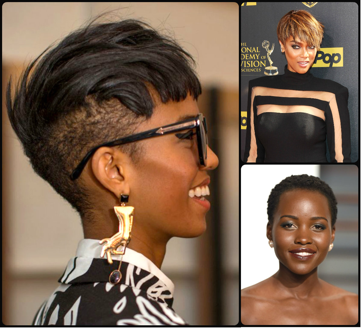 Jazzy Black Women Short Hairstyles 2016 Fahion And Style 2016