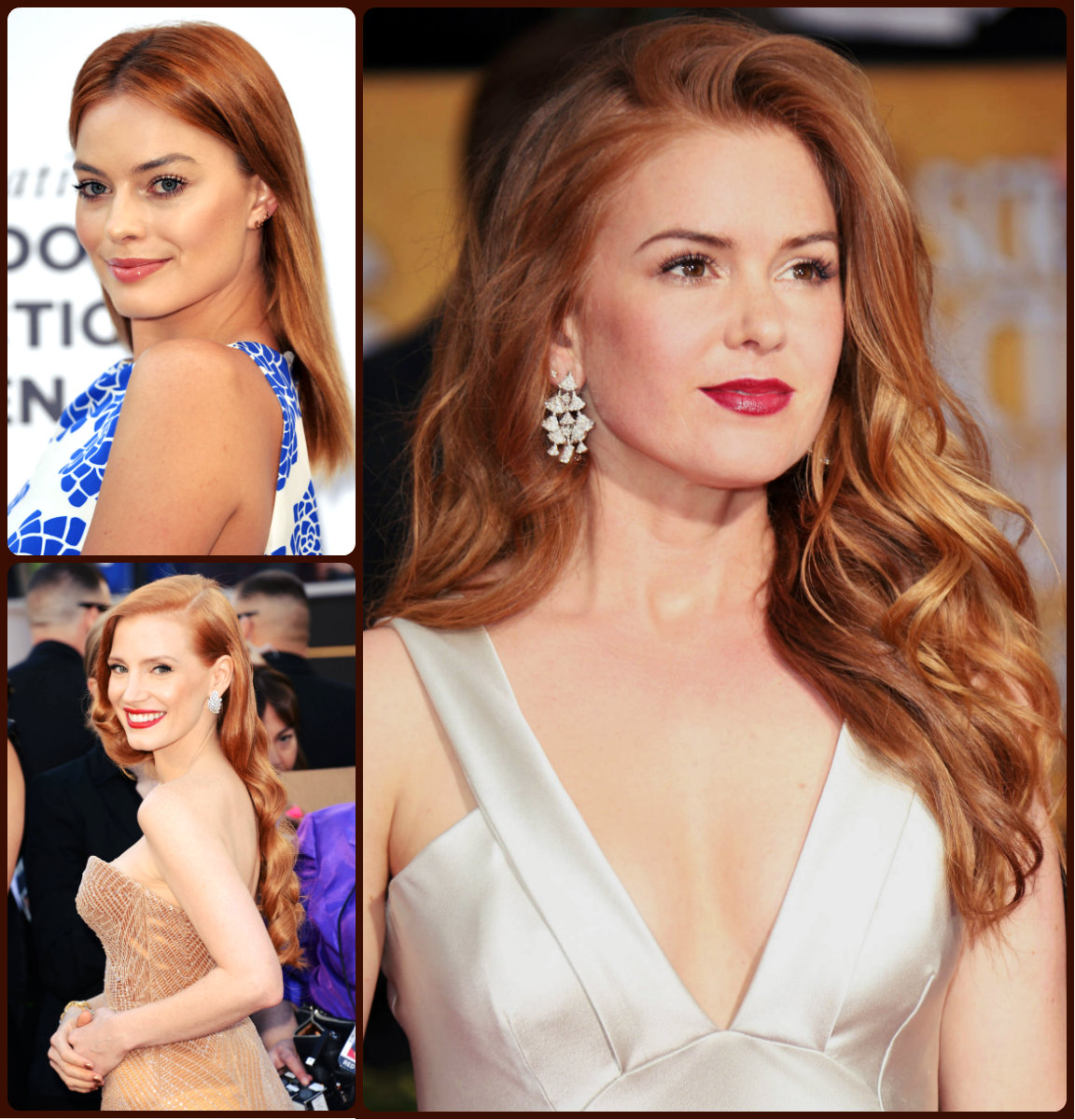 Best Celebrity Red Hair Colors 2016