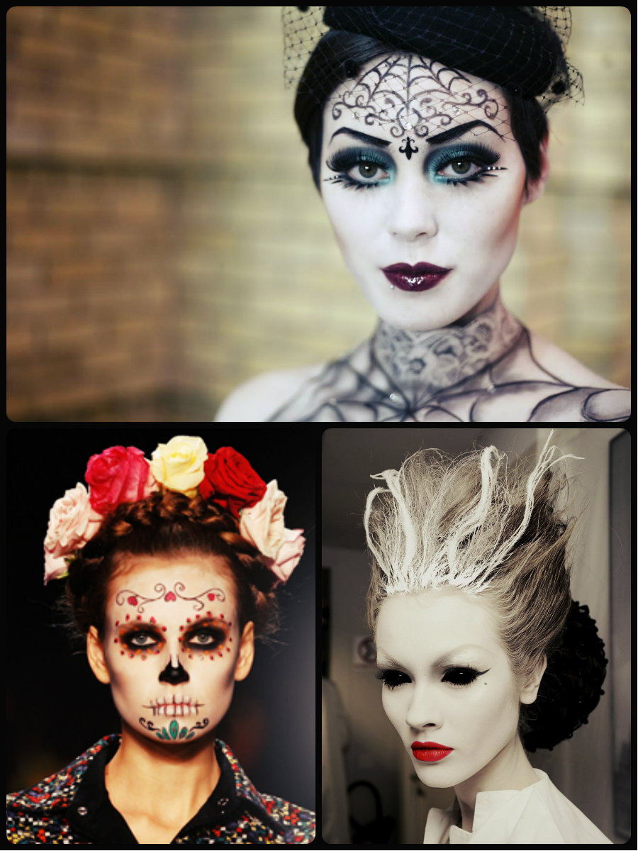 Scary & Creative Halloween Hairstyles