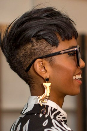 stylish Mohawk hairstyles for black women