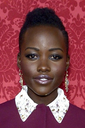Lupita Nyong'o Mohawk hairstyles for black women