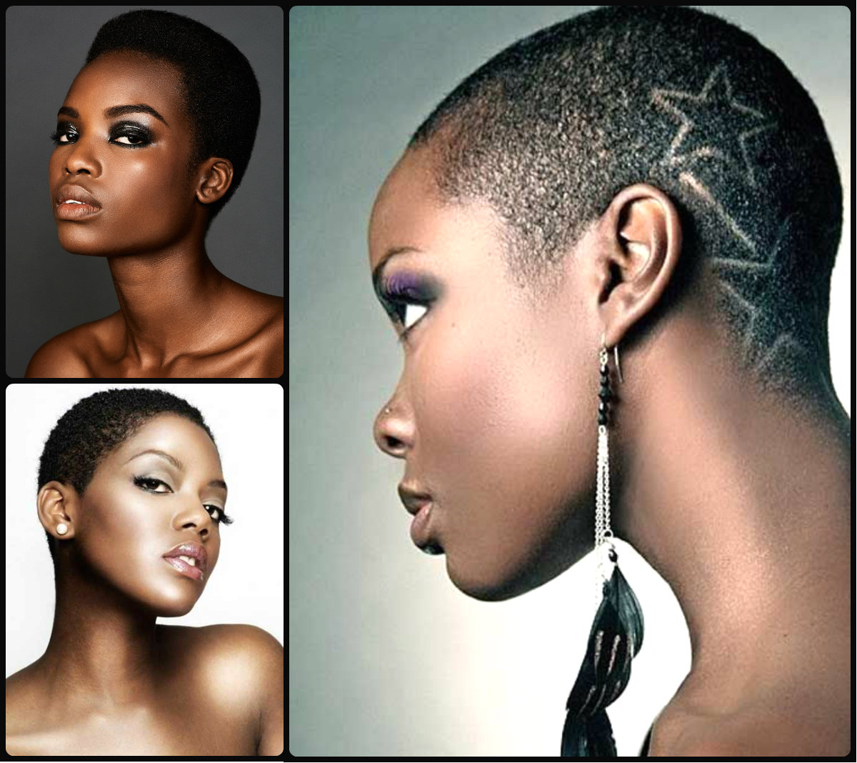 Miraculous Extra Short Natural Black Hairstyles Hairstyles 2016 Hair Short Hairstyles Gunalazisus