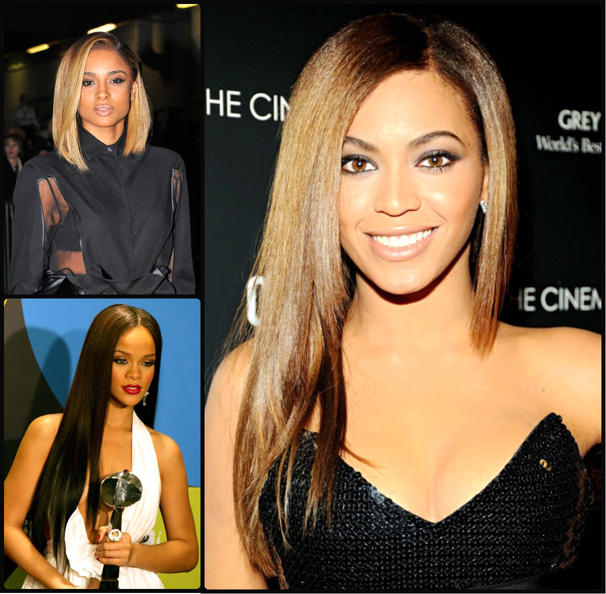 best straight hairstyles for black women ~ long hairstyles