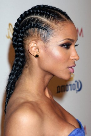 cornrows braids for black women