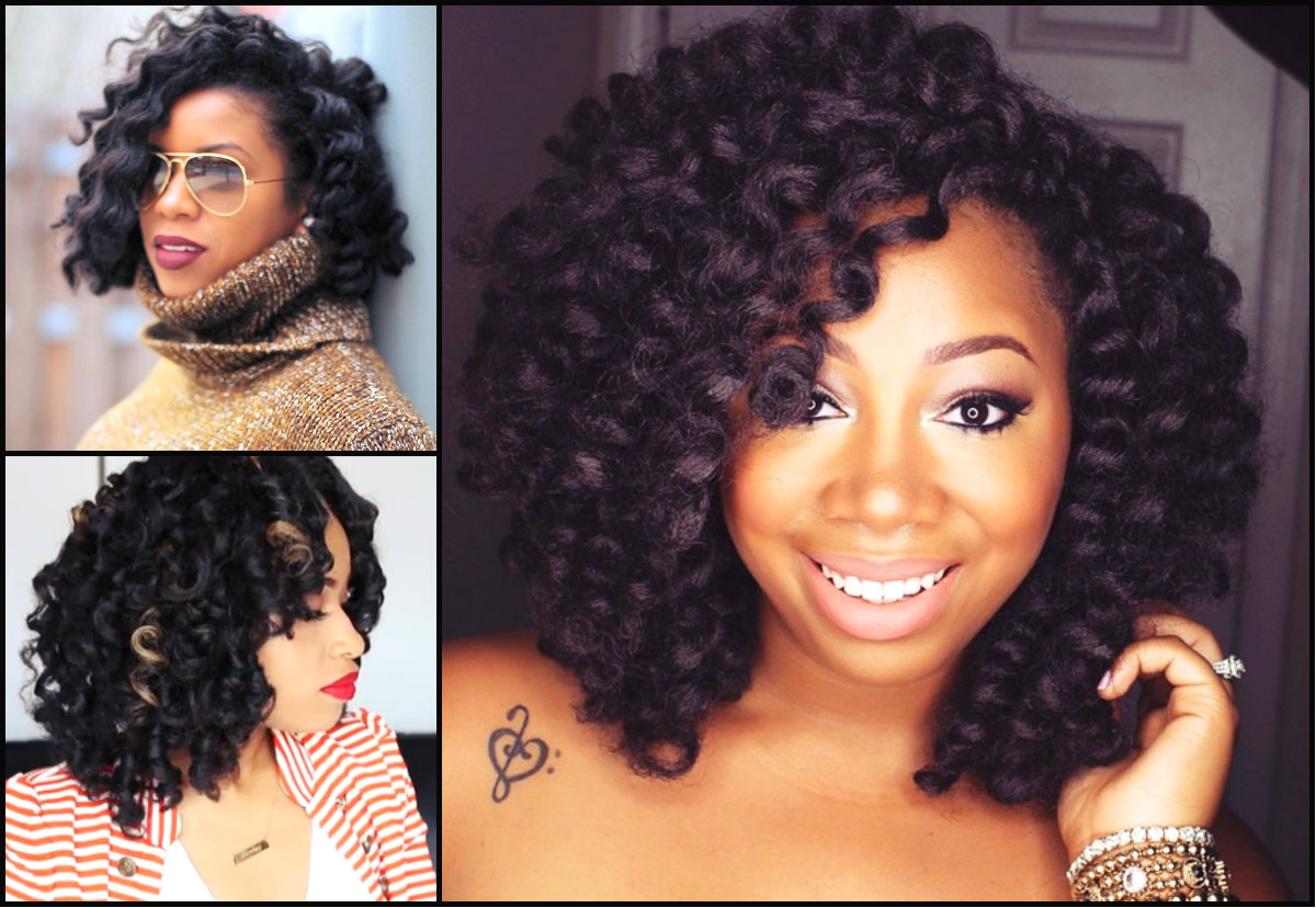 Trendy Crochet Braids For Black Women Hairstyles 2017 Hair Colors