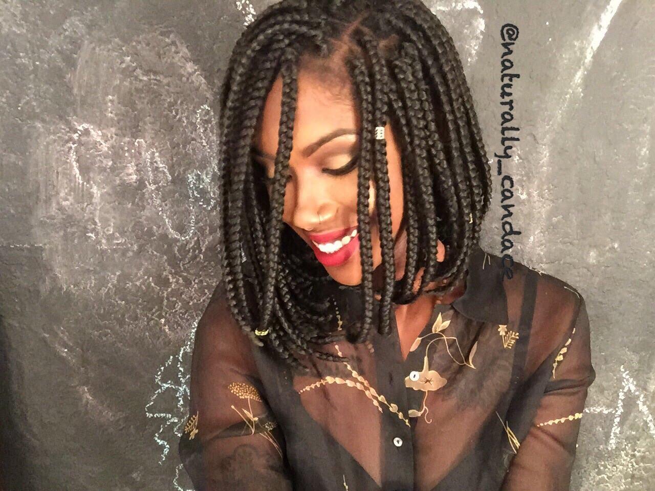 Wondrous Extra Cool Short Box Braids Hairstyles 2016 Hair Colors And Short Hairstyles Gunalazisus