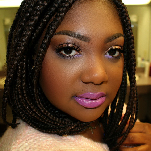 Magnificent Short Box Braids Styles Pictures Braids Hairstyle Inspiration Daily Dogsangcom