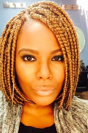 Pleasing Extra Cool Short Box Braids Hairstyles 2016 Hair Colors And Hairstyle Inspiration Daily Dogsangcom