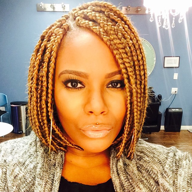 Extra Cool Short Box Braids Hairstyles 2017 Hair Colors