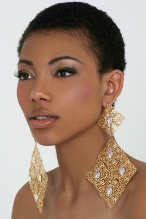 very short natural black women hairstyles