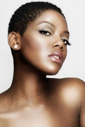 sensual short natural black women hairstyles
