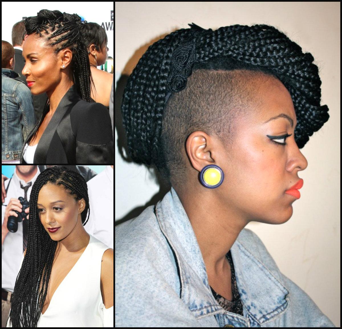 Admirable Box Braids With Haircut Braids Short Hairstyles Gunalazisus