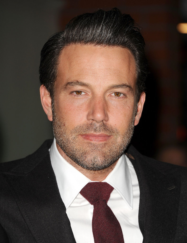 Ben Affleck Celebrity Gray Hairstyles for Men
