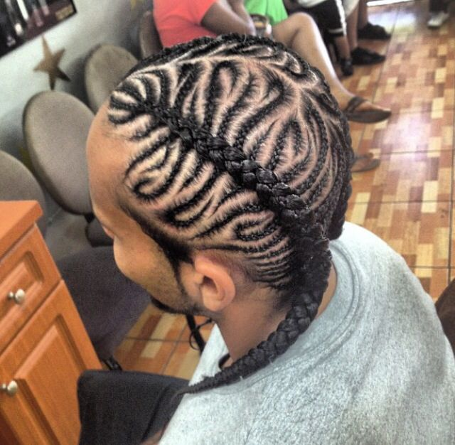Pleasing Braided Hairstyles For Black Men Braids Hairstyle Inspiration Daily Dogsangcom