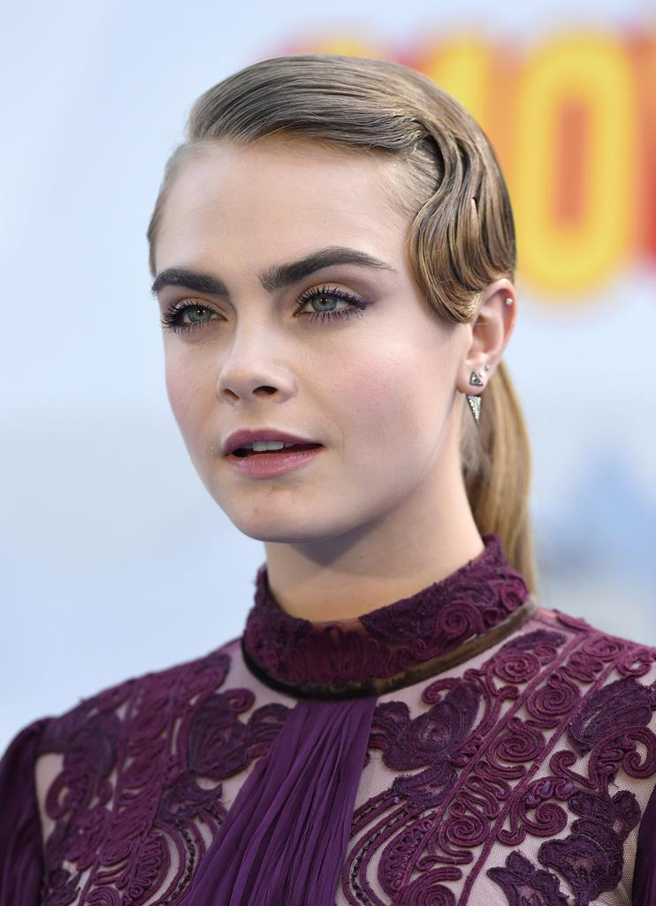 Cara Delevingne Holiday Hairstyles 2016