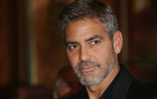 George Clooney Celebrity Gray Hairstyles for Men