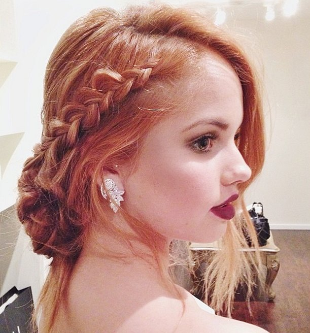 Soft braids Hairstyles for 2016 New Year