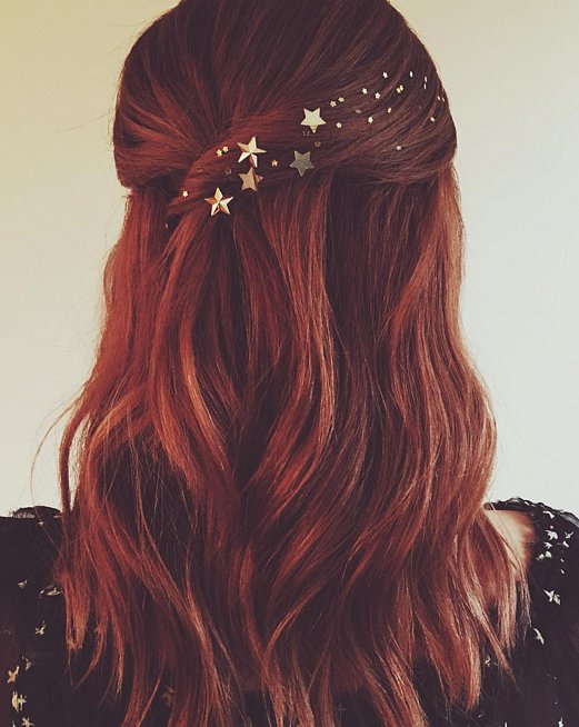 Long Party Hairstyles for 2016 with stars