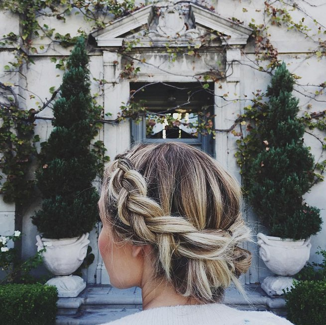 Crown braids Hairstyles for 2016 New Year