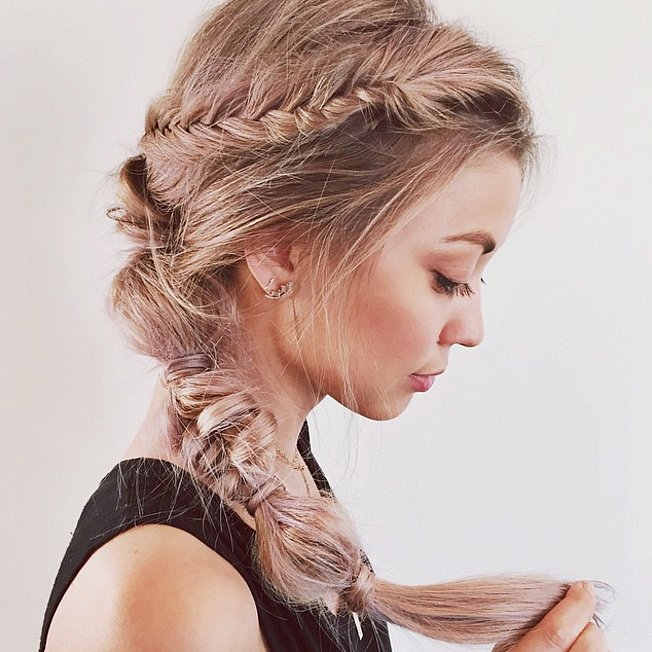 Mixed braids Hairstyles for 2016 New Year