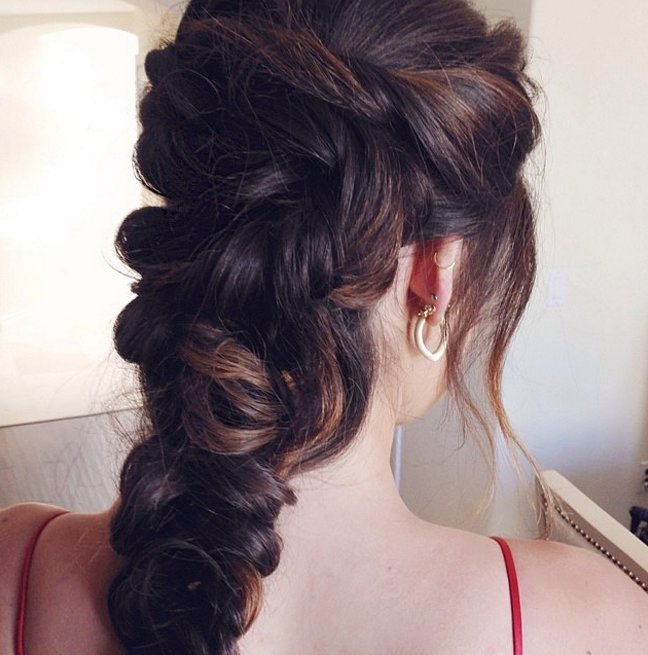 Huge braids Hairstyles for 2016 New Year