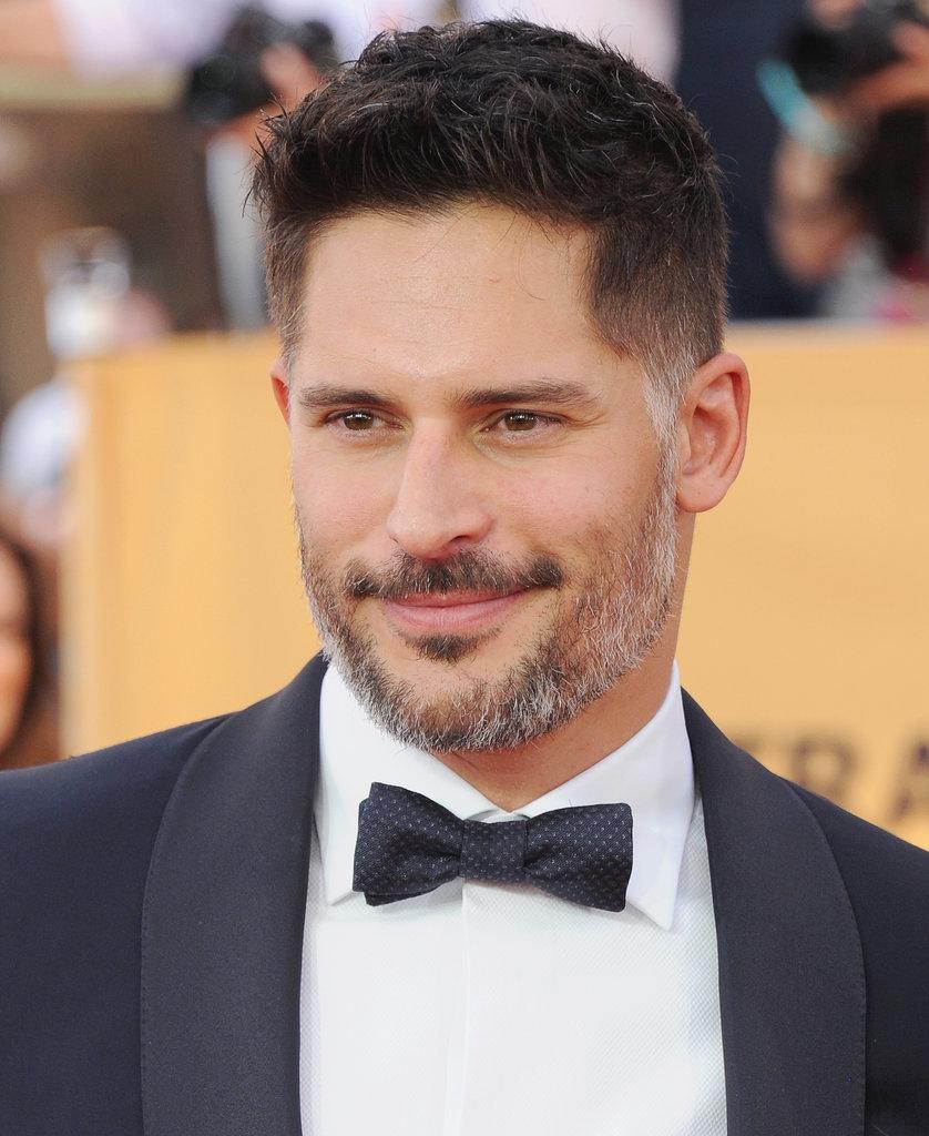 Joe Manganiello Celebrity Gray Hairstyles for Men