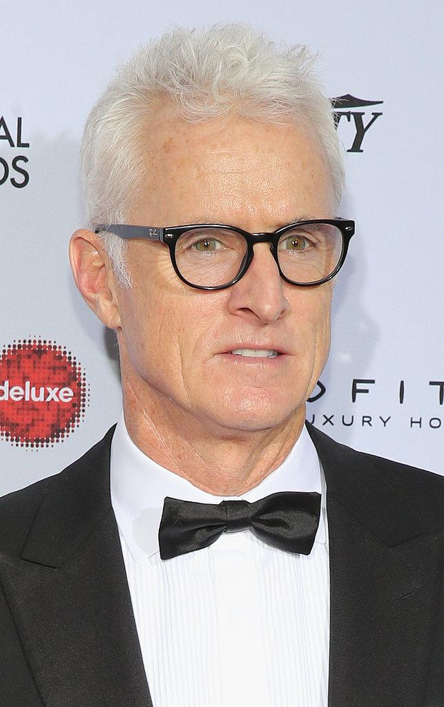 John Slattery Celebrity Gray Hairstyles for Men